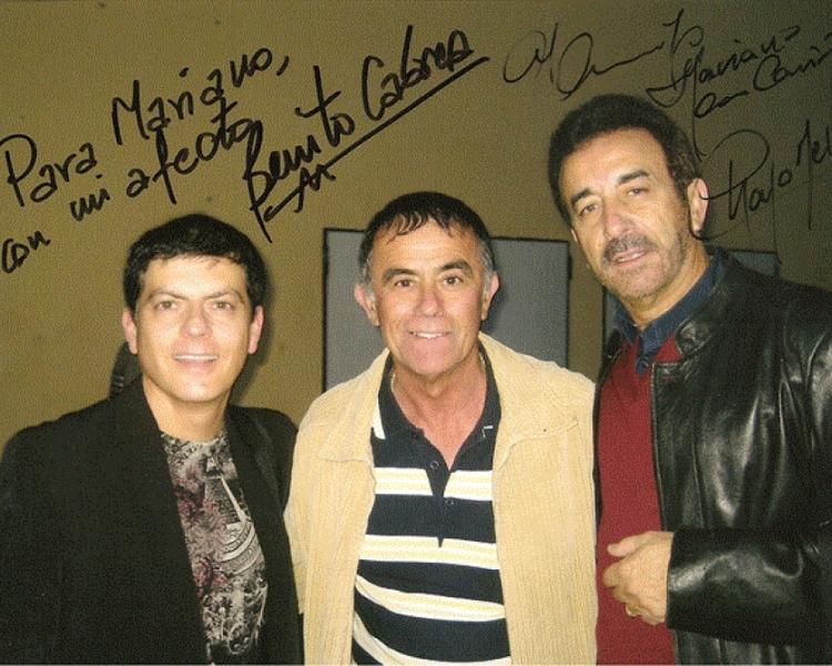 CHAGO MELIAN Y BENITO CABRERA